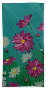 April Showers Beach Towel