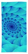 Aqua Pillow Vortex Beach Towel