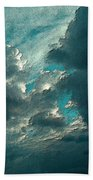 Aqua Sky Beach Towel