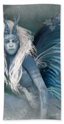 Aqua The Forest Fairy2 Beach Towel