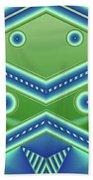 Aquamarine Beach Towel