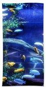Aquarium Fish Beach Towel