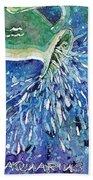Aquarius Beach Towel