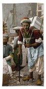 Arab Stonemasons, C1900 - To License For Professional Use Visit Granger.com Beach Sheet