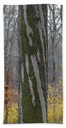 Arboreal Design Beach Towel