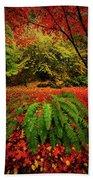 Arboretum Primary Colors Beach Towel