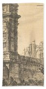 Arch Of Trajan In Ancona  Beach Towel
