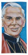 Archbishop Fulton J. Sheen Beach Towel