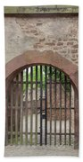 Arched Gate At Heidelberg Castle Beach Towel