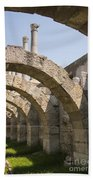 Arches And Columns Beach Towel