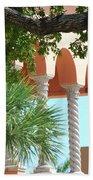 Arches Thru The Trees Beach Towel