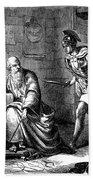 Archimedes (c287-212 B.c.) Beach Towel