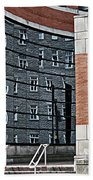 Architecture And Reflections Beach Towel
