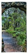 Archway To The Forest Beach Towel