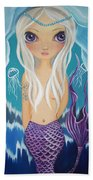 Arctic Mermaid Beach Towel