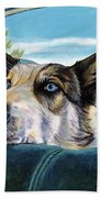 Are We There Yet? Beach Towel