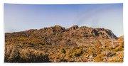 Arid Australian Panoramic Beach Sheet