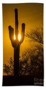 Arizona Cactus #1 Beach Towel