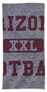 Arizona Cardinals Retro Shirt Beach Towel