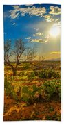 Arizona Sunset 28 Beach Towel
