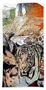 Ark Of Hope The Rainbow Beach Towel by Mark Taylor