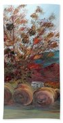 Arkansas Autumn Beach Towel
