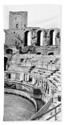 Arles Amphitheater A Roman Arena In Arles - France - C 1929 Beach Towel