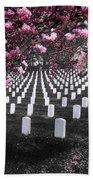 Arlington National Cemetery Beach Sheet