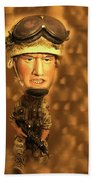 Army Guy Beach Towel