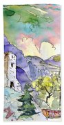 Arnedillo In La Rioja Spain 03 Beach Towel