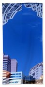 Around New York Beach Towel
