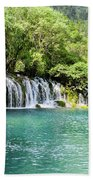 Arrow Bamboo Waterfall Beach Towel