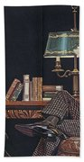 Arrow Shirt Collar Ad, 1914 Beach Towel