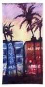 Art Deco Miami Beach Towel