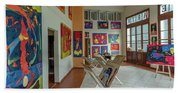 Art Gallery In Havana Beach Sheet