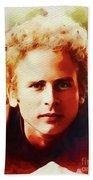 Art Garfunkel, Music Legend Beach Towel