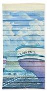Art On The Bayfront 1 Beach Towel