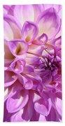 Art Prints Dahlia Flower Decorative Art Garden Baslee Beach Towel