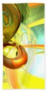 Articulate Design Abstract Beach Towel