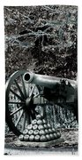 Artillery At Pickettes Charge Beach Towel