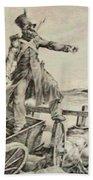 Artillery Caisson Beach Towel