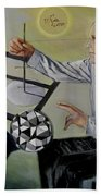 Artist And Muse Beach Towel