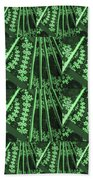 Artistic Sparkle Floral Green Graphic Art Very Elegant One Of A Kind Work That Will Show Great On An Beach Towel