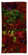 Artists Foliage Beach Towel