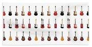 Guitar Icons No2 Beach Sheet