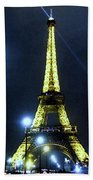 La Tour Eiffel Beach Towel
