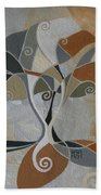 A Cold Winter's Day Beach Towel