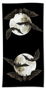 Creatures Of The Night Beach Towel