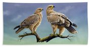 Tawny Eagles Beach Towel