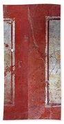 Pompeii Pomegranate Still Life Fresco 1 Beach Towel
